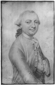 Portret van Anthony Iman Massis ( -1771)