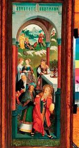 Het offer van Joachim door de hogepriester geweigerd