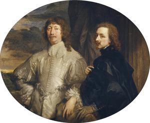 Dubbelportret van Endymion Porter (1587-1649) en Anthony van Dyck (1599-1641)