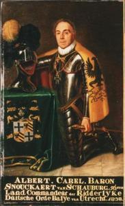 Portret van Albert Carel baron Snouckaert van Schauberg