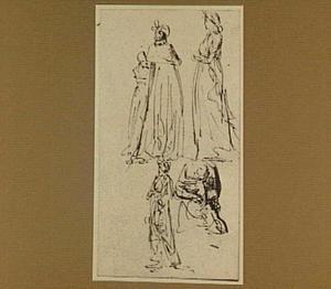 Studies van vijf vrouwen