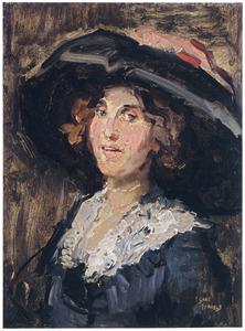 Portret van Sophie de Vries (1879-1931)