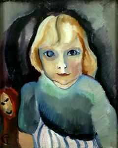 Portret van Annetje Fernhout (1916-1956)