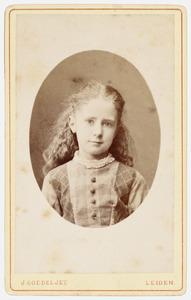 Portret van Johanna Plemp (1869-1900)