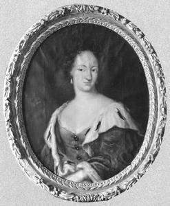 Portret van Ulrika Eleonora (1656-1693), koningin van Zweden en prinses van Denemarken