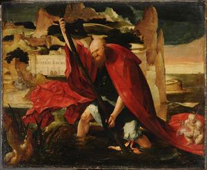 H. Christoforus met het Christuskind