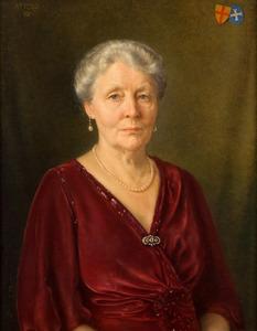 Portret van Marie Amelie Mechtild Agnes van Aldenburg Bentinck (1879-1975)