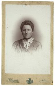 Portret van Neeltje Mooy Sybrands
