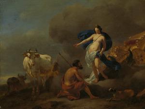 Juno geeft Argus opdracht Io te bewaken