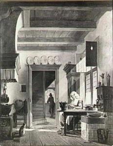 Keukeninterieur