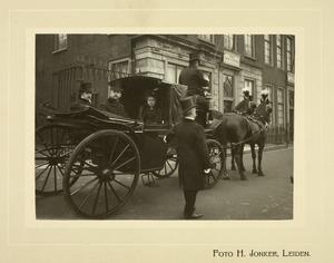 Promotie van Jhr. Dr. Willem Dignus de Jonge (1883-1942), 27 februari 1907