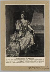 Portret van H.M. Koningin Wilhelmina