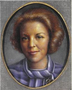 Portret van koningin Beatrix als kroonprinses (1938-)