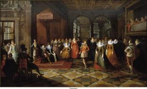 Bal aan het Brusselse Hof van de aartshertogen