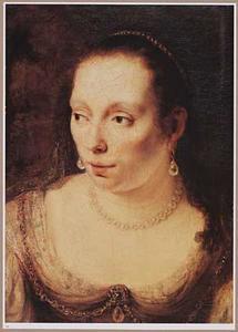 Portretstudie van een vrouw