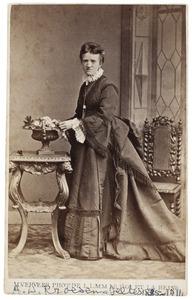 Portret van Alida Wilhelmina Jeltes (1835-1911)