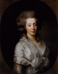 Portret van Anna Louisa van der Poorten (1752-1800)
