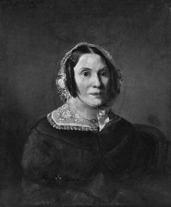 Portret van Jannetje Brambacht (1809-1890)