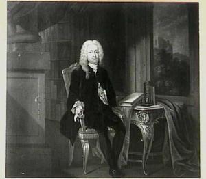 Portret van Willem Schepers (1684-1750)