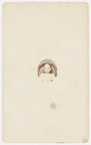 Portret van Bertha Six