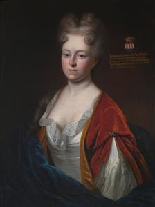 Portret van Johanna Elisabeth Adelheid Freiin von der Reck zu Horst (1675-1711)
