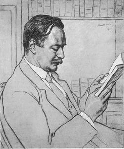 Portret van Hendrik Enno van Gelder (1876-1960)