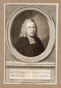 Portret van Rutger Schutte (1708-1784)