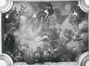 De verheerlijking van kroonprins Frederik Wilhelm I van Pruisen