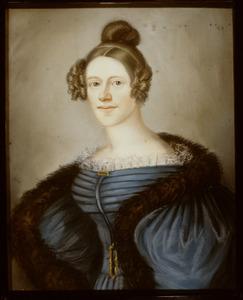 Portret van Charlotte Amelie van Lidth de Jeude (1809-1838)