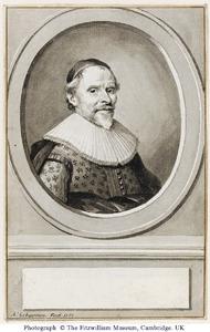 Portret van François van Aerssen, heer van Sommelsdijk (1572-1641)
