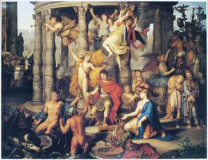 Allegorie op de triomf van een Romeinse veldheer