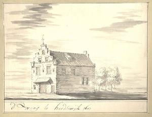 Harderwijk, de Waag anno 1607