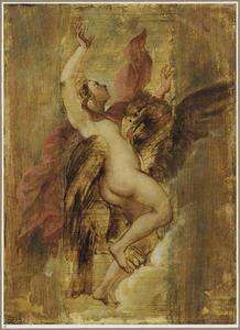 De roof van Ganymedes (Ovidius, Metamorfosen, X, 155)