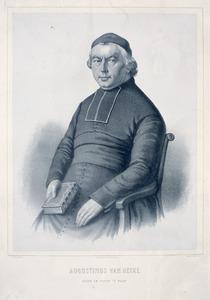 Portret van Augustinus van Hecke (1788-1864)