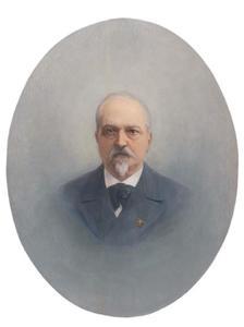Portret van Carolus Marinus Johannes Willem van Rijnen (1832-1903)