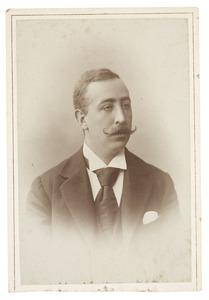 Portret van Adolf Hendrik van der Mijll Dekker (1873-1947)