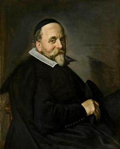 Portret van een man, mogelijk Gerrit Jansz. van Santen (?-?)