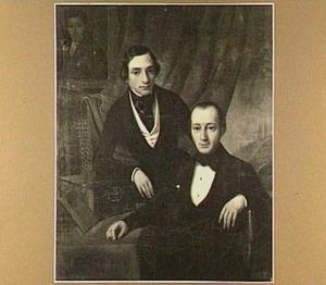 Dubbelportret van Elias Samuel Stein (1815-1895) en Emanuel Samuel (1814-...)