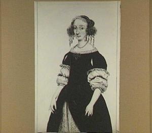 Portret van Petronella de Waert (1622-1678)