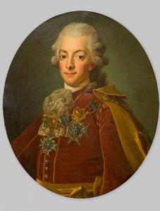 Portret van Gustaaf III van Zweden (1746-1792)