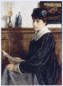 Portret van Elisabeth Gijsberta Koopman