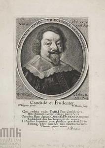 Portret van Nicolas Pahl (1595-1649), burgemeester van Danzig