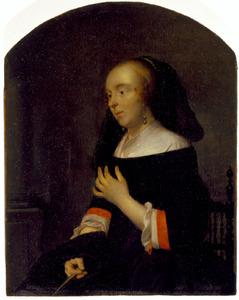 Portret van Isabella de Wolff (....-1718)