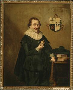 Portret van Christiaen Henrici Ouwens (1604-1673)