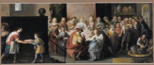 De afscheidsrede van de aartsengel Rafael aan het huwelijksmaal van Sara en Tobias