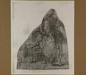 De drie dochters van Cecrops vinden het slangenkind Erichtonius in de mand