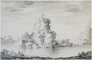 Gezicht op de haven van Tripoli