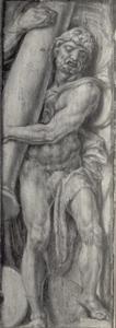 Hercules draagt de hemelzuil