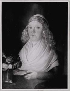 Portret van Anna Jacomina Themmen ( -1827)