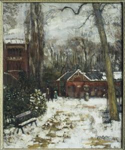 Wintergezicht in Artis
